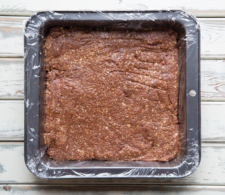Ingredients for Raw Goji Brownie Bites - delicious little mouthfuls of chocolate heaven - Raw, Vegan & Gluten Free | thecookandhim.com