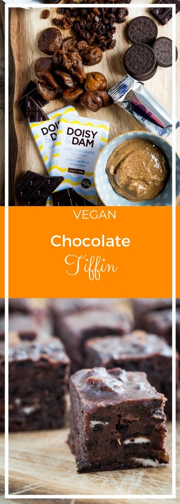 Vegan Chocolate Tiffin