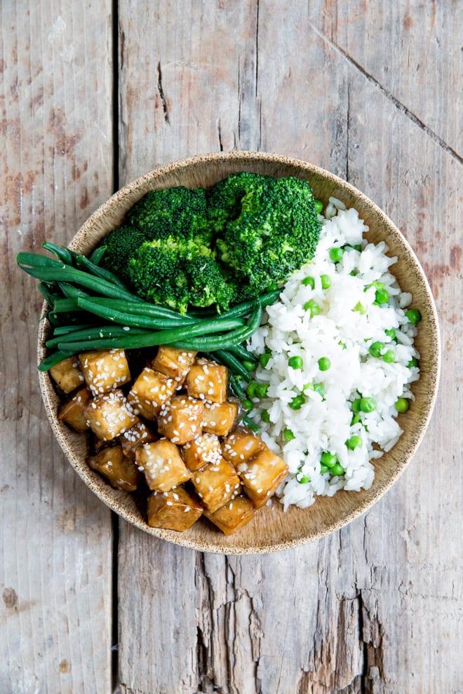 Teriyaki Baked Tofu