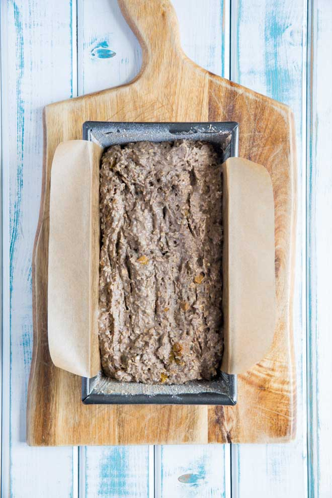 Full of seeds, fruit and buckwheat flour this Gluten Free Bread is so easy to make but doesn't compromise on flavour! #glutenfree #glutenfreebaking #glutenfreebread #glutenfreevegan | Recipe on thecookandhim.com