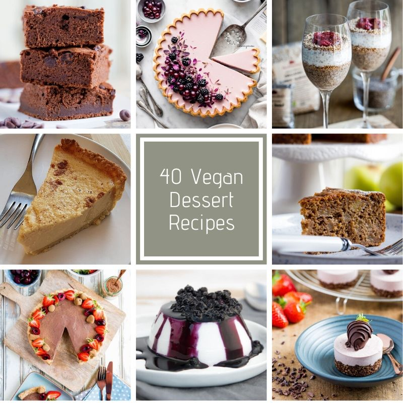 40 Vegan Dessert Recipes