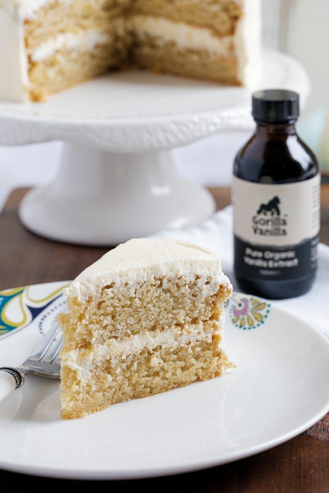 Vegan Vanilla Cake