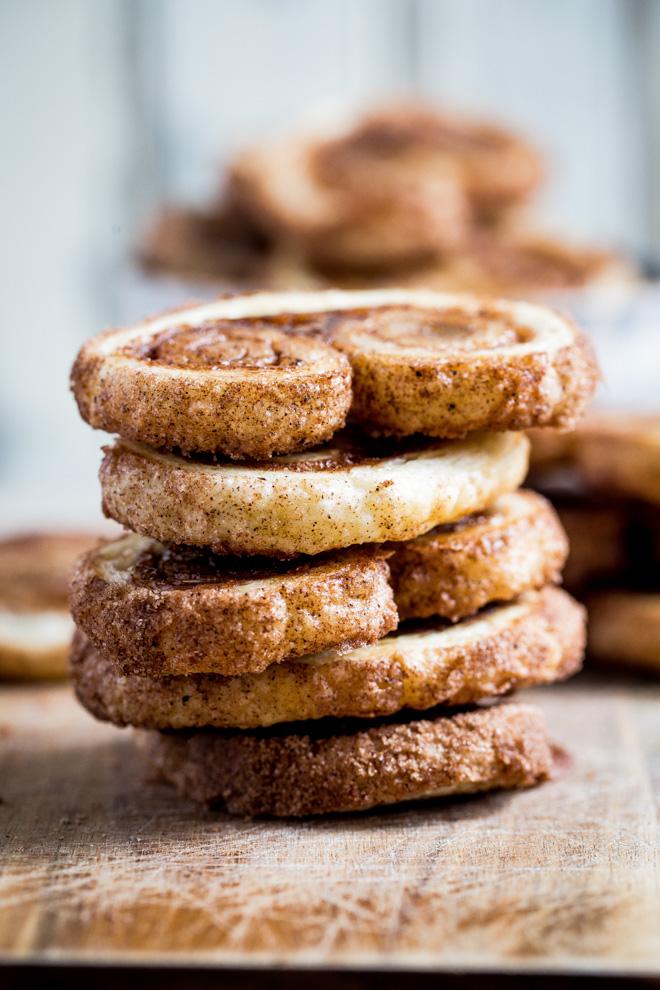Spiced Orange Palmiers | Slice & Bake Recipe