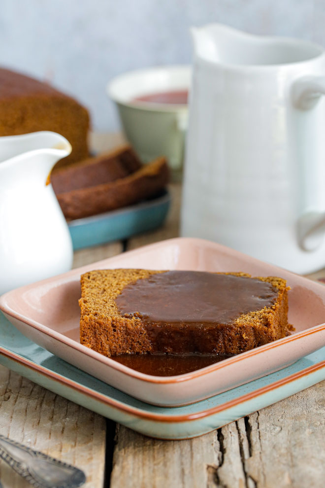 Jamaican Ginger Sticky Pudding Cake